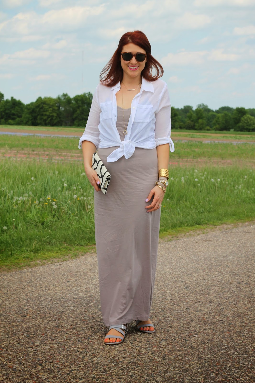gray, maxi, forever21, dress