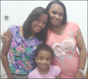 Rayanne, Rosyelle e Jennifer
