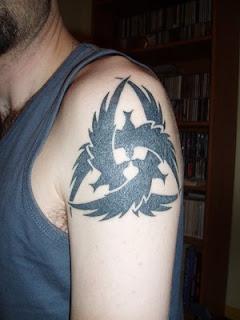 crow art style tattoos
