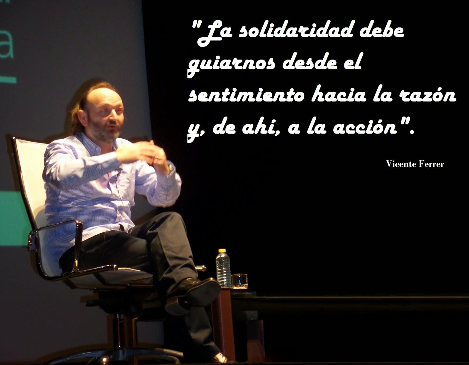 El Blog de María Serralba - Vicente Ferrer, una ilusión hecha realidad