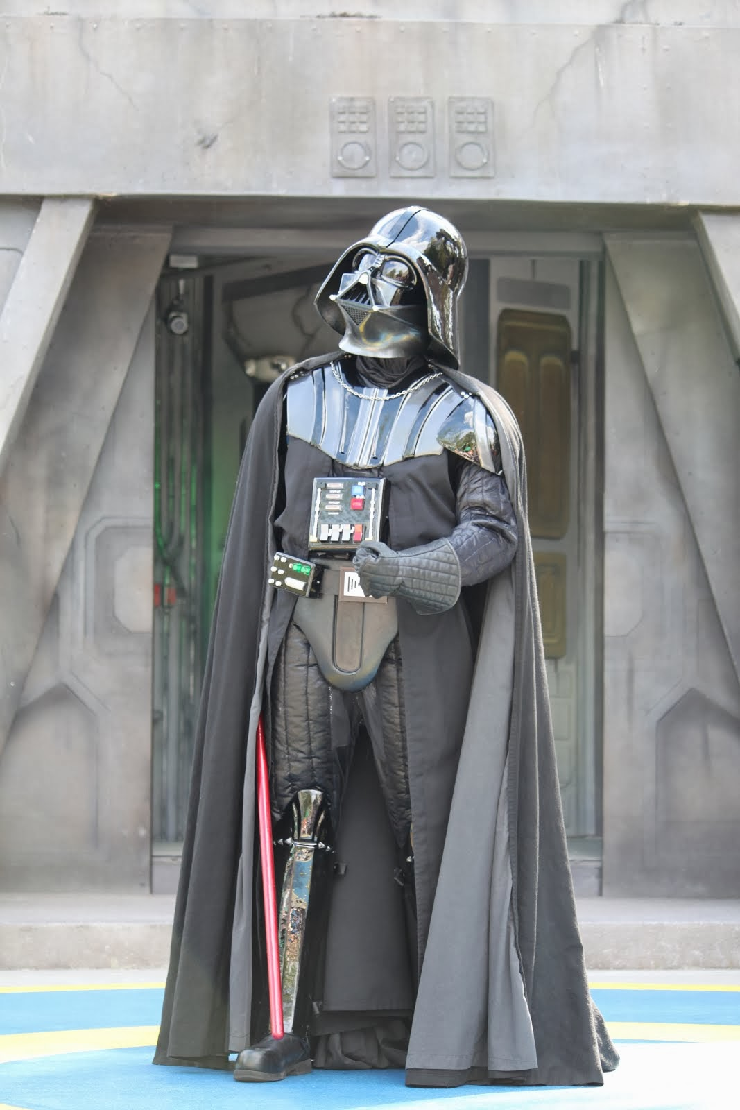 Darth Vader at the Jedi Training Academy at Star Tours: The Adventure Continues
