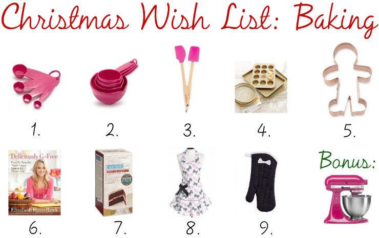 The Blush Blonde Christmas Wish List Baking