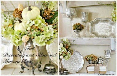 Vintage, Paint and more... One More Time Events Fall Mantel