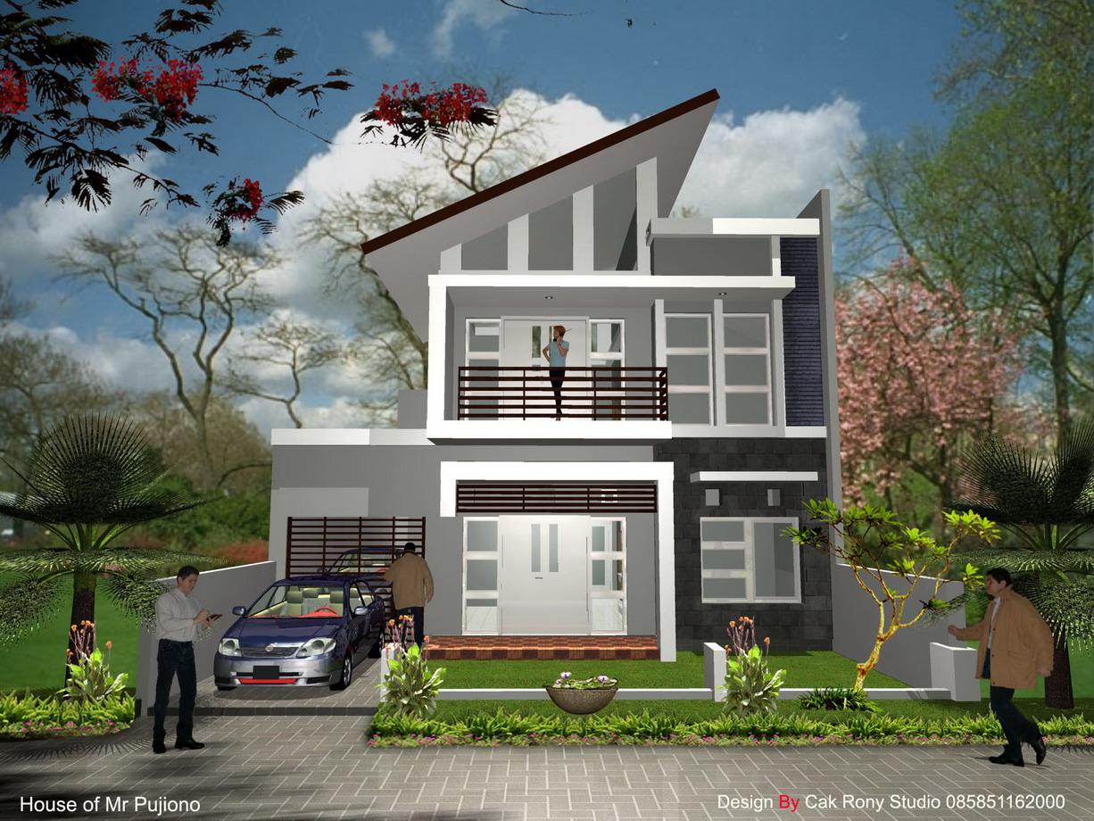 wallpaper rumah minimalis
