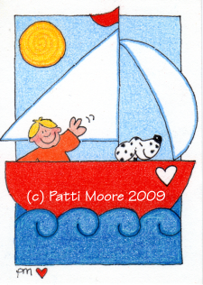 """Sailing With Spot"""