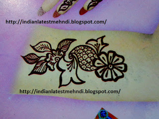 flower mehndi designs 2013 for arms 5