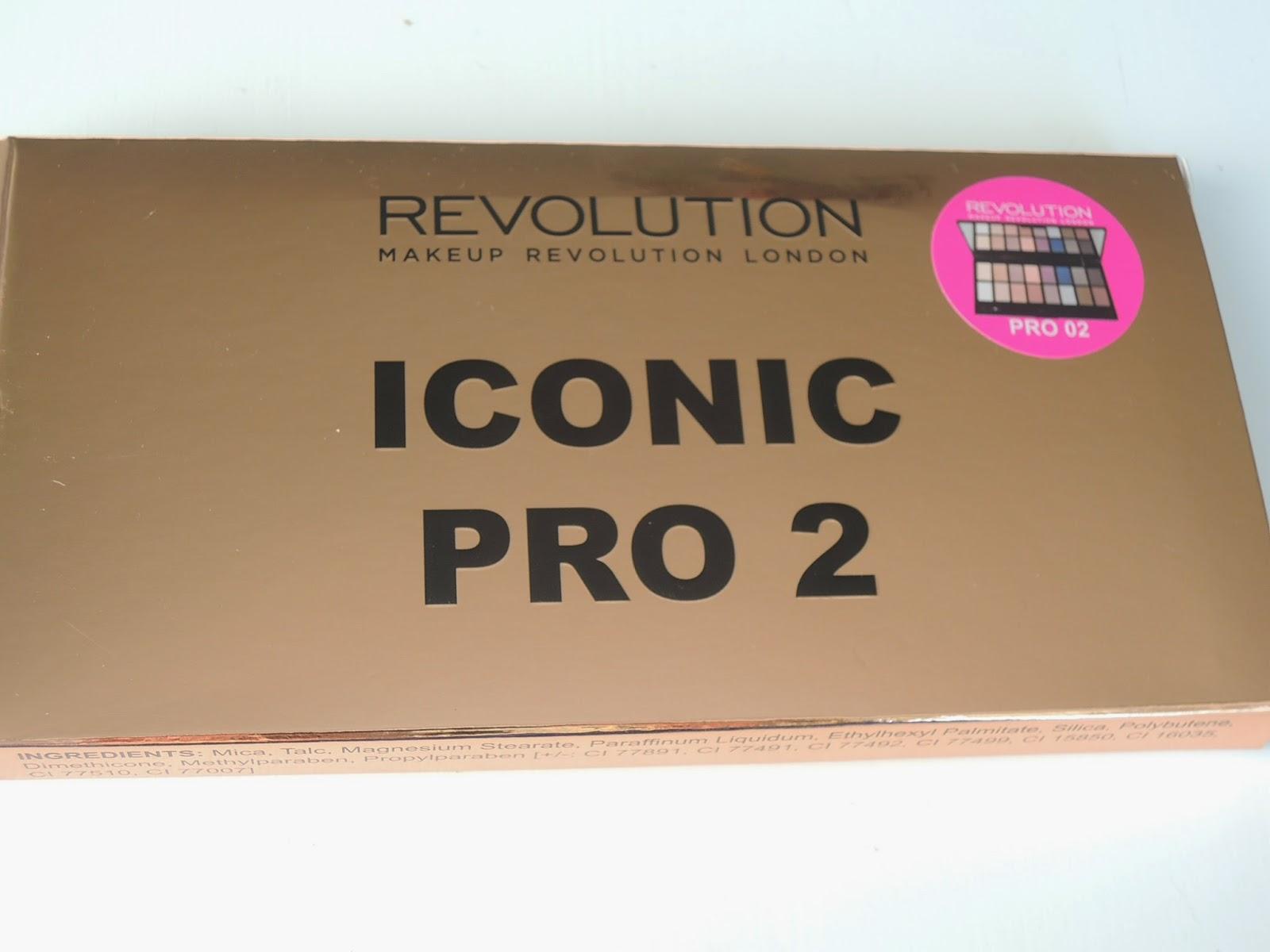Nie mogłam się powstrzymać, czyli Iconic Pro 2 od Makeup Revolution