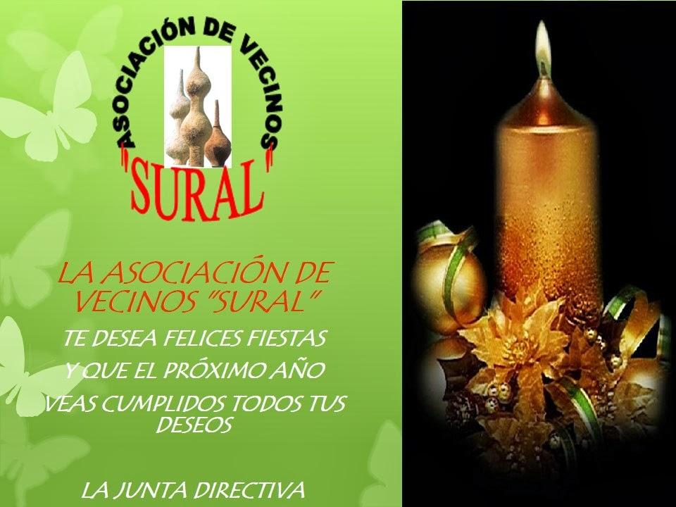 Asociacion de Vecinos Sural Alcorcón: SURAL os desea unas FELICES ...