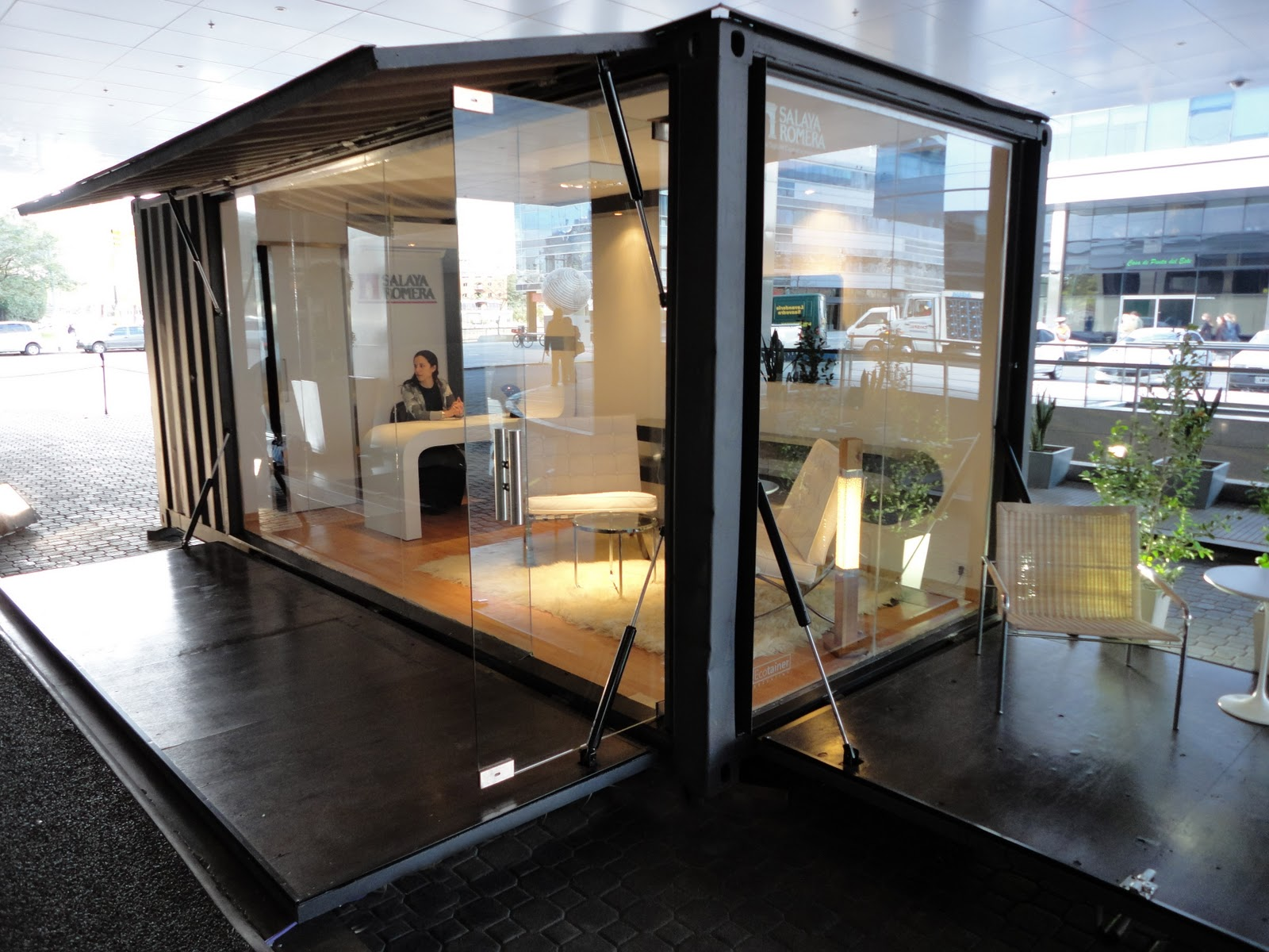 Cuando las ideas se concretan eco office movil for Diseno de oficinas con contenedores