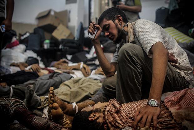 Foto-Foto Korban Keganasan Tentera Mesir Terhadap Penyokong Pro Mursi