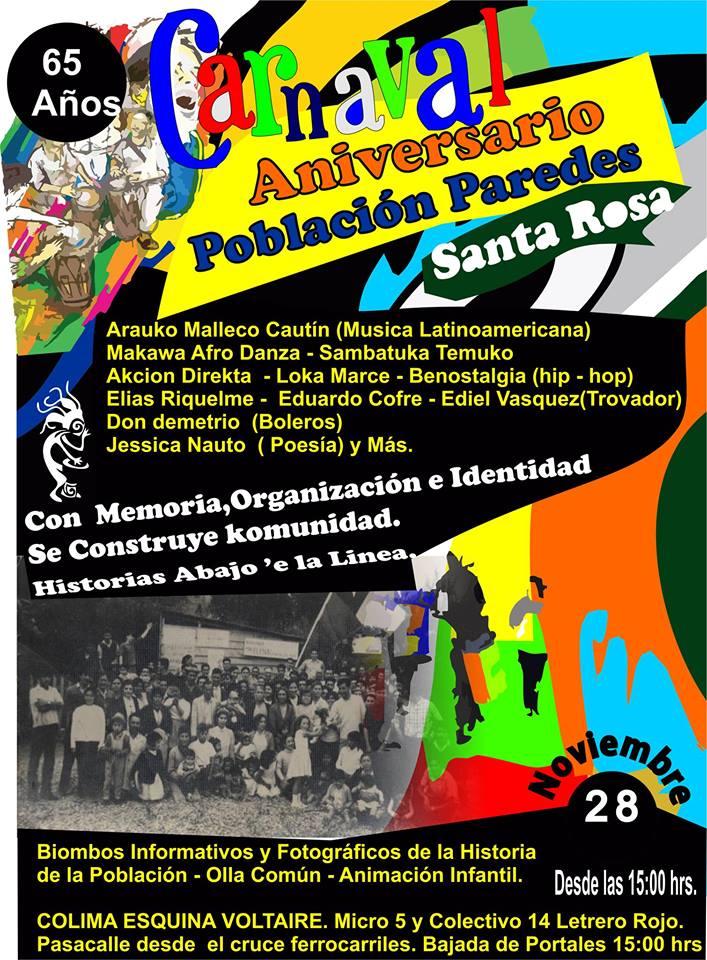 ANIVERSARIO 65 AÑOS POBLACIÓN PAREDES!
