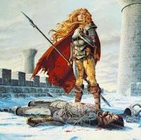 """La muerte de Sturm"" (Óleo) -Larry Elmore-"