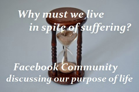 Facebook Discussion Group on Why We Live