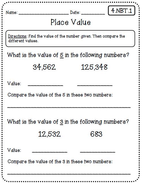 math worksheet : 4th grade math common core worksheets  my sheet : Common Core Math Worksheets For 2nd Grade