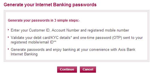 Axis bank forex login