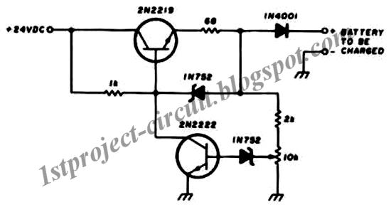 project circuit design  200ma  hour  u2013 12v ni