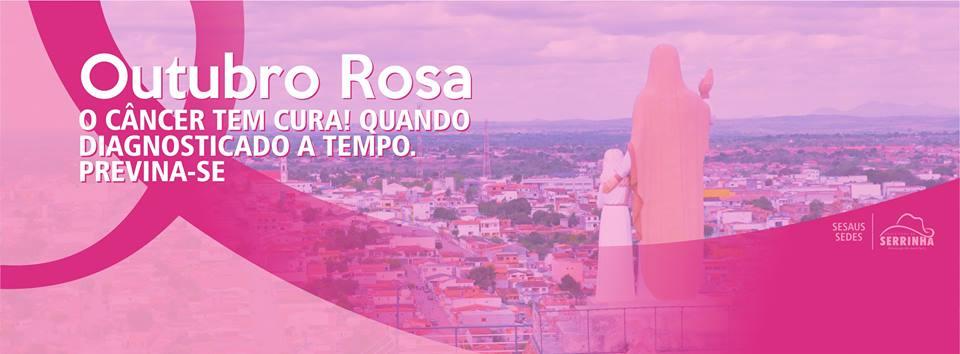PREFEITURA MUNICIPAL DE SERRINHA NO OUTUBRO ROSA