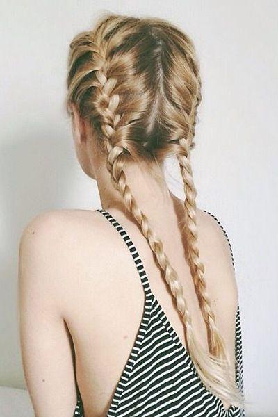 Aquí las mejores imágenes de Peinados con trenzas , Primavera Verano 2016,como fuente de inspiración