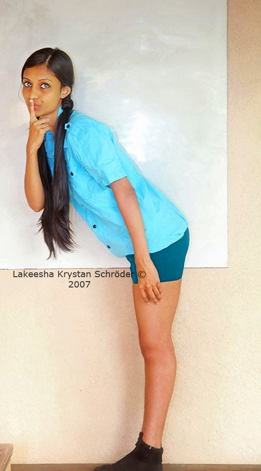 Lakeesha Krystan tight shorts