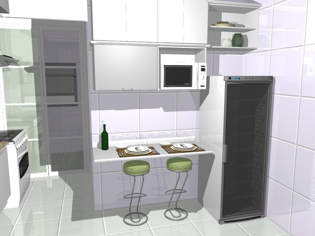 Fabiane Cardoso Atelier Arquitetura Cozinha Compacta # Cozinha Compacta Em L
