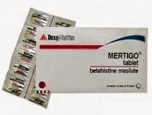 obat antivertigo