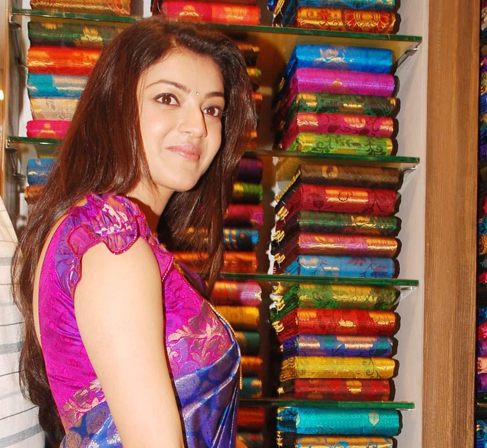 Kajal Agarwal at Chennai Shopping Mall, Chanda Nagara - Hyderabad
