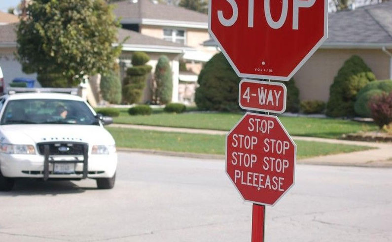 20 funny hacked stop signs funny signs