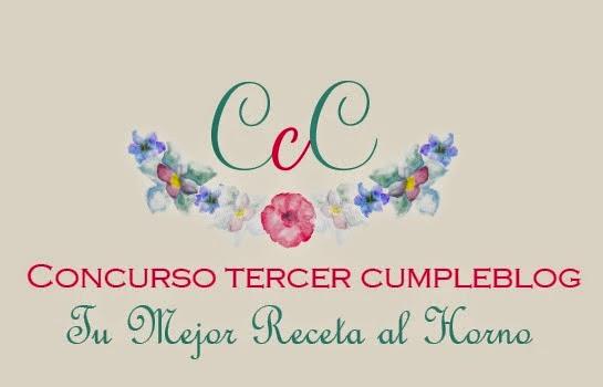 Formo parte del jurado para el concurso 3er Cumpleblog de Las Chachas