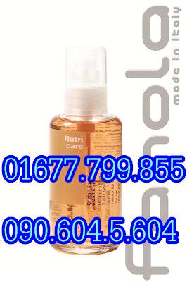 Serum Fanola điều trị tóc hư tổn Fanola Restructuring Fluid Crystals NutriCare