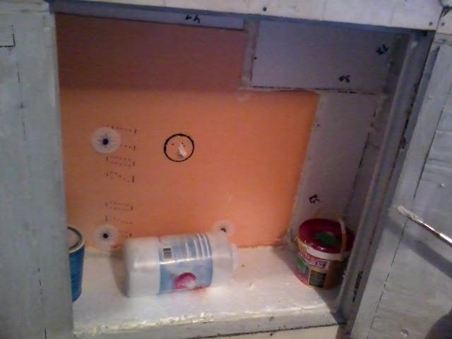 Утепление зимнего холодильника