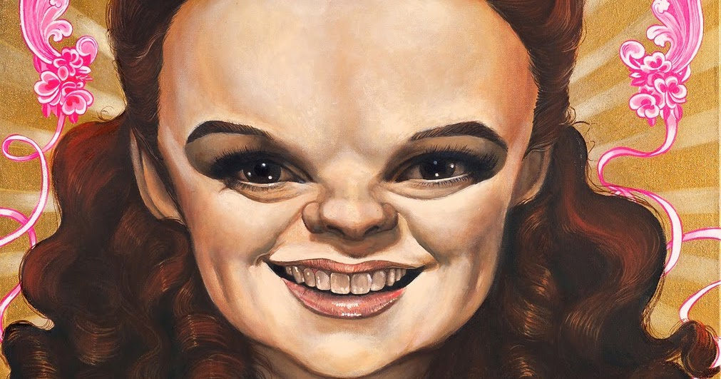 Caricature Art By Bob Doucette Judy Garland In The Wizard