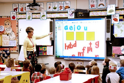 teaching with a smart board