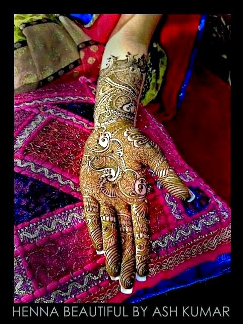 Best Bridal Fancy Mehndi Designs