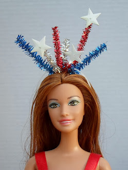 lady liberty headband for barbie