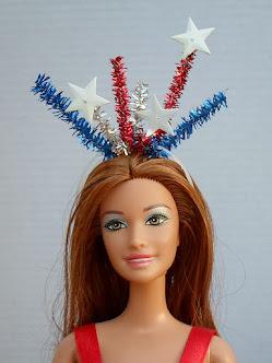 lady liberty headband for barbie