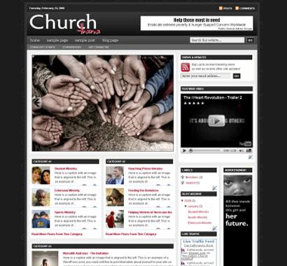 revolution church blogger templates v2