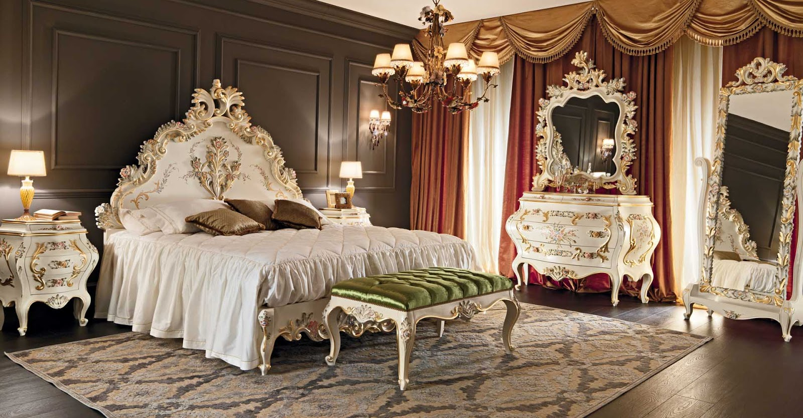 Elegant Bedroom Furniture ~ Amazing luxury bedroom furniture ideas home design