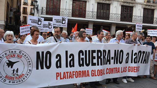 Barcelona acogerá el 12 de diciembre una concentración contra la guerra y la OTAN