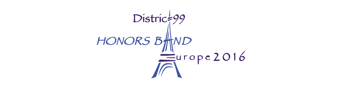District 99 Honors Band - 2016 European Tour