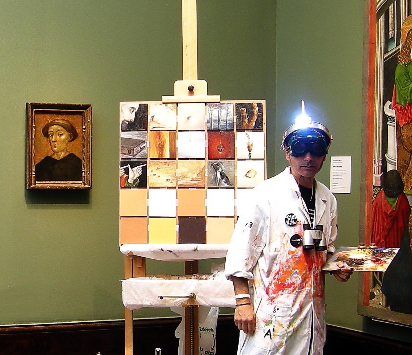 paisaje humano, patafísica,Museo de Bellas Artes, Albert Palomera