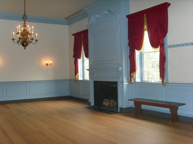Ballroom at Gadsby's Tavern