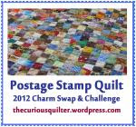 Postage Stamp Charms