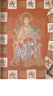 Pendón Real. Ayto de Sevilla. Fernando III El Santo