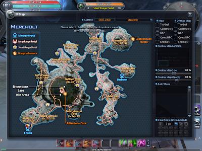 Scarlet Blade - Mereholt Map