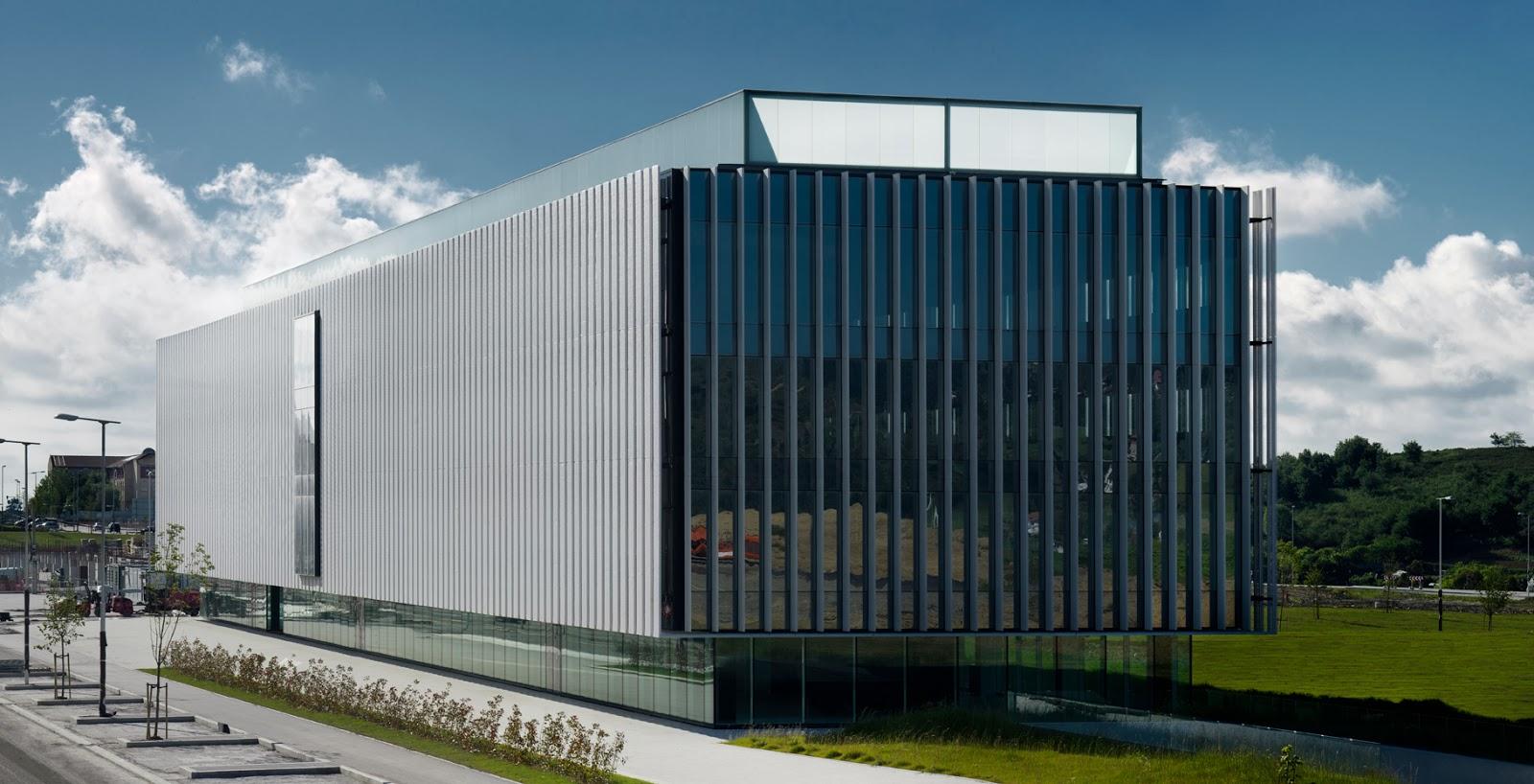 Imar arquitectura metal architecture metal sede - Estudio arquitectura bilbao ...