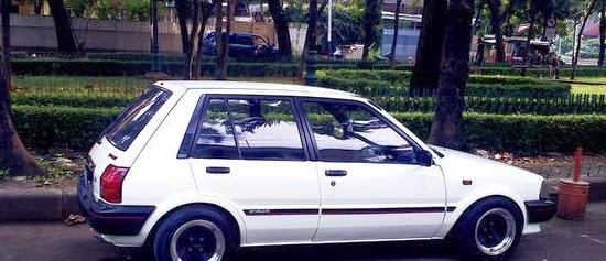 modifikasi mobil di bawah ini contohGambar Modifikasi Toyota Starlet title=