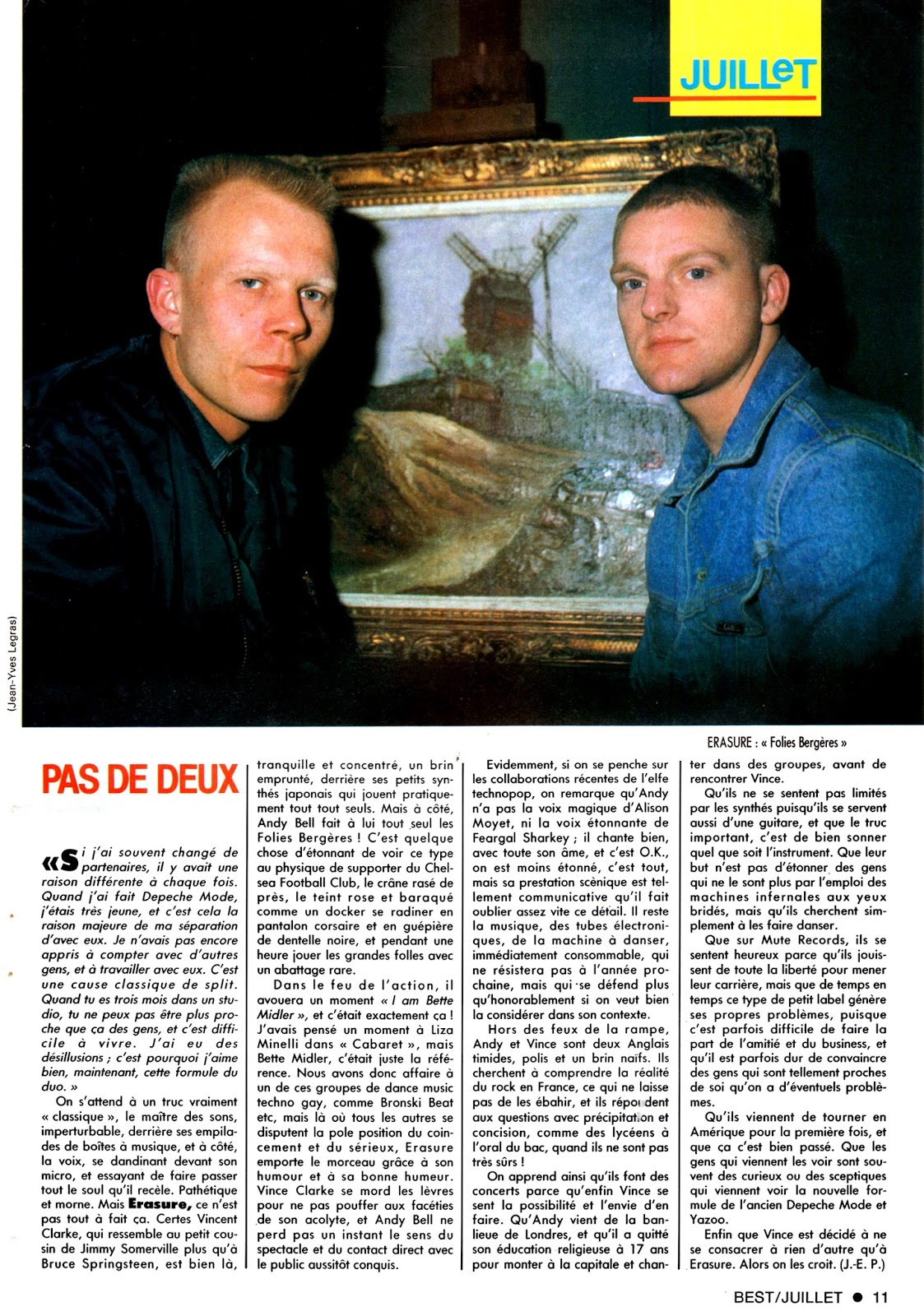 Vince Clarke and Paul Quinn - One Day = Un Dia