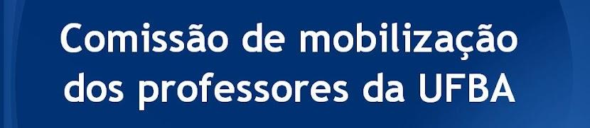 Comissão de Mobilização dos professores da UFBA