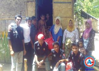 Peringati Kampanye Polio dan Campak, Komunitas BABUJU Serahkan Bantuan di Soromandi