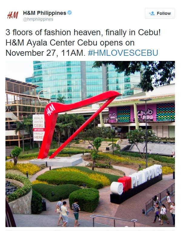 H&M-Ayala-Center-Cebu-Opening